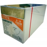 SUTURE-CHROMIC GUT -(UNIK)-75CM S:2 12PCS/BOX-(CT372)