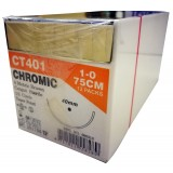 SUTURE-CHROMIC GUT -(UNIK)-75CM S:1 12PCS/BOX-(CC401)
