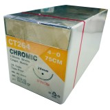 SUTURE-CHROMIC GUT -(UNIK)-75CM S:4 12PCS/BOX-(CT264)