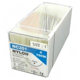 SUTURE-NYLON-UNIK-1.0 24PCS/BOX-(NC301)