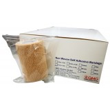 Self Adhesive Bandage 7.5cm x 4.5m (12 Rolls/Box) Brown Color