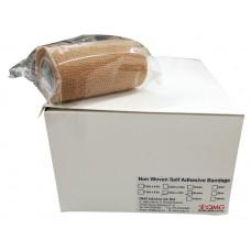 Self Adhesive Bandage 10.0cm x 4.5m Brown Color